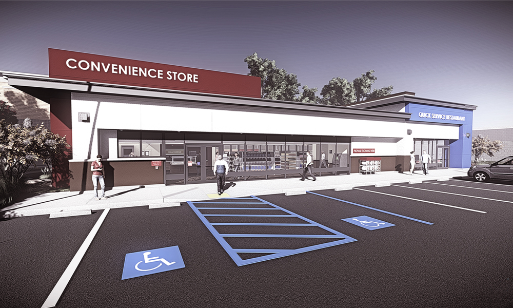 Mpmcsa virtual convenience store for Convenience store exterior design